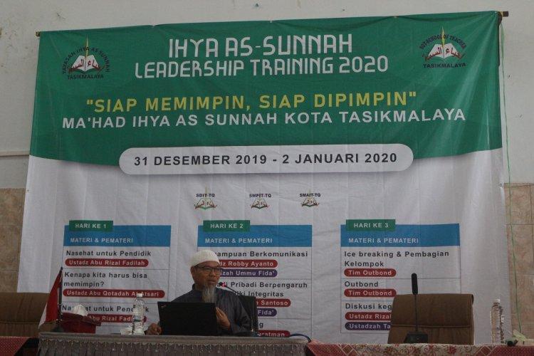 IHYA AS-SUNNAH LEADERSHIP TRAINING 2020