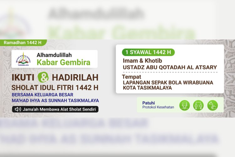 Shalat Idul Fitri 1442 H